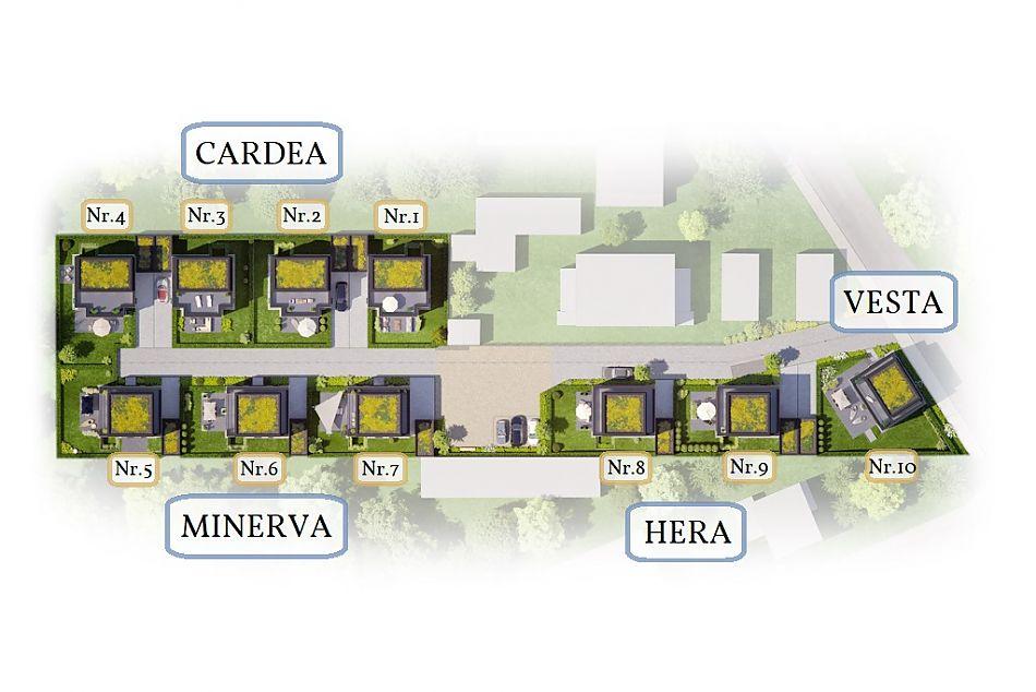 Neubauprojekt RHIVIVA Auf einen Blick