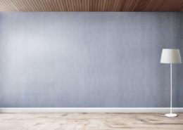 Ein leerer Raum als Symbolbild für diskreten Verkauf