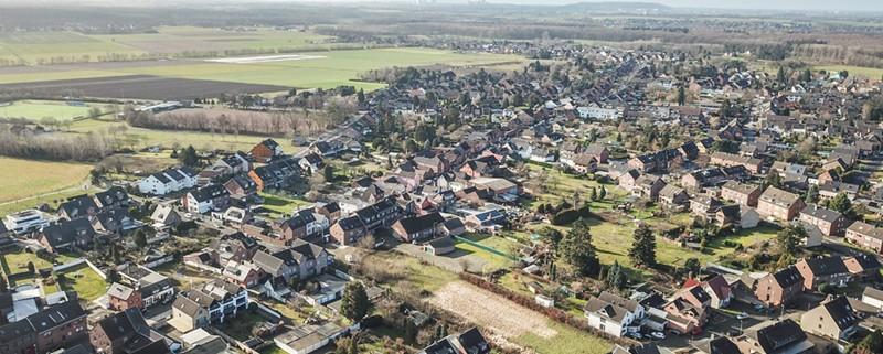 Die Immobilienpreise in Dormagen sind um elf Prozent gestiegen.